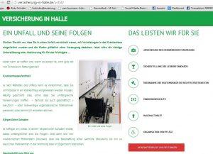 Versicherung in Halle - Unfall